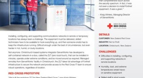 Fortinet Secures ZLT Network-in-a-Box for Self-Contained Telecommunications