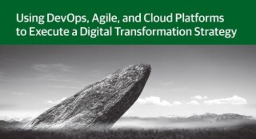Monolithic Transformation: Using DevOps, Agile, and Cloud Platforms to Execute a Digital Transformation Strategy