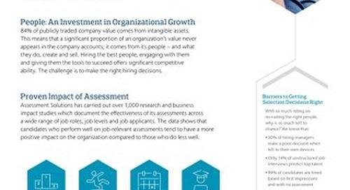 Why Assess Fact Sheet