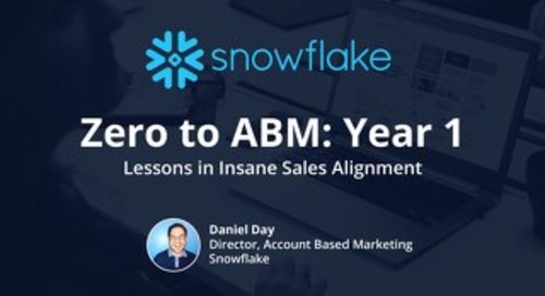 How Snowflake Engaged 100% of Their 800 Target Accounts with Personalized Content Experiences_Austin