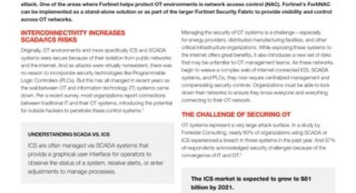 Helping to Ensure OT Security Using FortiNAC