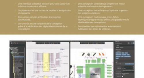Altium Designer 19 saisie de schéma ensemble de caractéristiques
