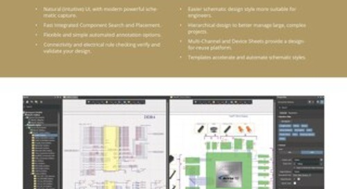 Altium Designer 19 Schematic Capture Feature Set