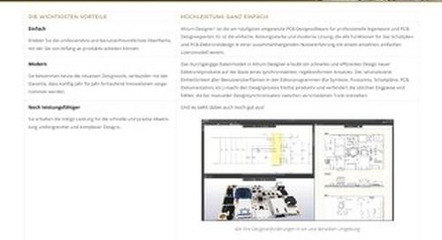Altium Designer 19 Datenblatt