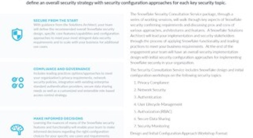Role-Based Security Consultation
