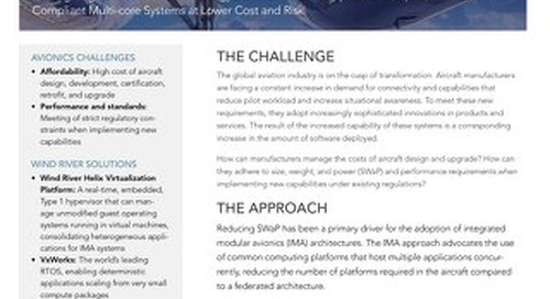 Evolve IMA Systems to Support Further Development, Certification, Retrofits, and Upgrades