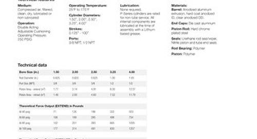 P-Series NFPA Datasheet