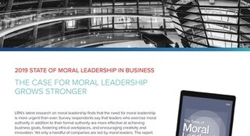The Case For Moral Leadership