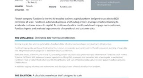 Accelerating Data-Driven Credit Analysis with Snowflake