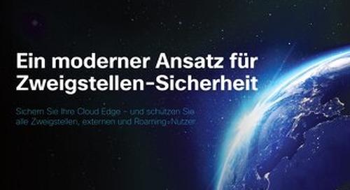 eBook: Ein moderner Ansatz für Zweigstellen-Sicherheit