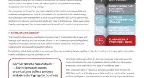 5 Data Management Tips to Build a Successful Multi-Cloud Strategy