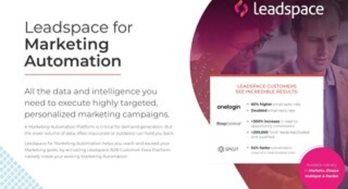 Leadspace for Marketing Automation