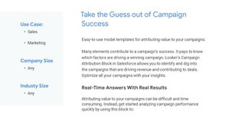 Salesforce Attribution