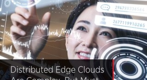 Distributed Edge Clouds Are Complex, But Must They Be Difficult?