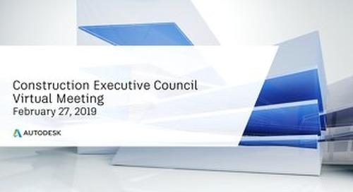 CXO Virtual Meeting Agenda & Problem Statements- 2.27