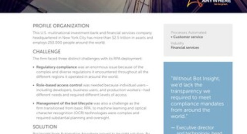 Global Financial Powerhouse