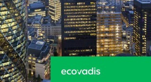 UK Country Spotlight Report: EcoVadis 2018 Global CSR Risk and Performance Index