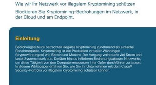 Schutz Ihres Netzwerks vor Kryptomining