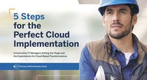 5 Steps for the Perfect Cloud Implementation