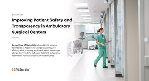 Improving Patient Safety and Transparency in Ambulatory Surgical Centers