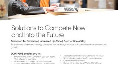 DDMSPLUS Enables Next Generation Growth