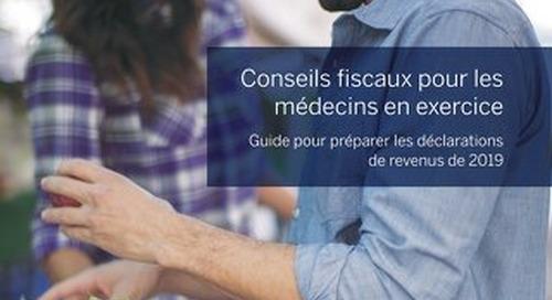 Conseils fiscaux pour les médecins en exercice