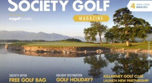 Society Golf 2018/19 Digital Magazine - Issue 4