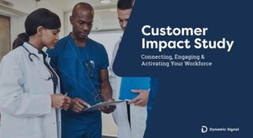 Dynamic Signal 2019 Customer Impact Study
