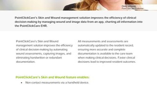 Skin and Wound - Solution Sheet - PointClickCare