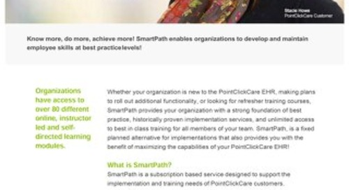 SmartPath Services - Solution Sheet - PointClickCare