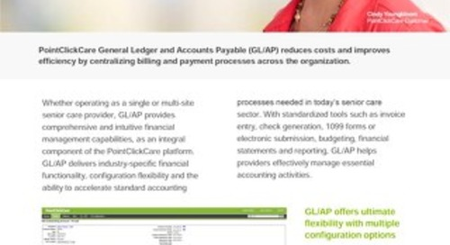 General Ledger & Accounts Payable: Solution Sheet