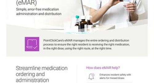 eMAR - SolutionSheet - PointClickCare
