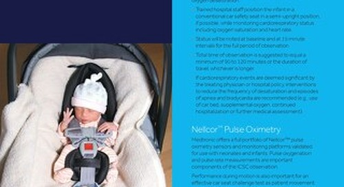 Handout: Nellcor™ PM10N Car Seat Challenge [Learn More]
