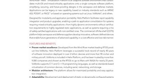 Helix Virtualization Platform for Aerospace & Defense Product Overview