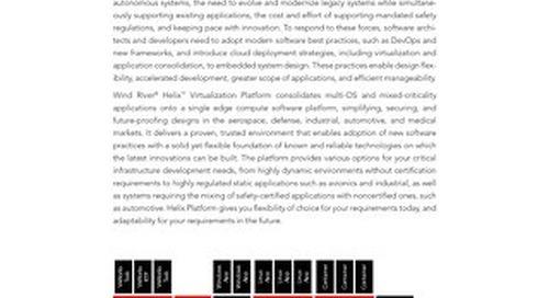 Helix Virtualization Platform Product Overview