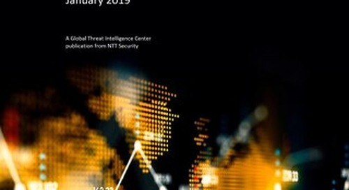 GTIC Monthly Threat Report - January 2019