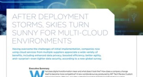 MIT Technology Review: Multi-Cloud Environments
