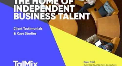 Talmix Client Testimonials & Case Studies