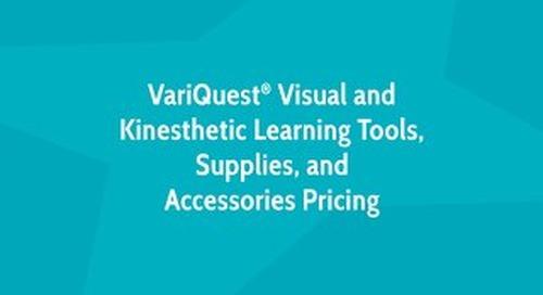 VariQuest Pricing Brochure 2019