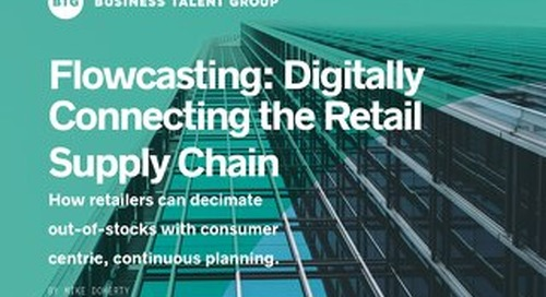 Flowcasting: Digitizing the Retail Supply Chain