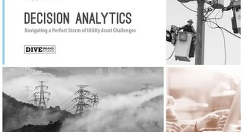 Playbook: Navigating a Perfect Storm of Utility Asset Challenges with Decision Analytics