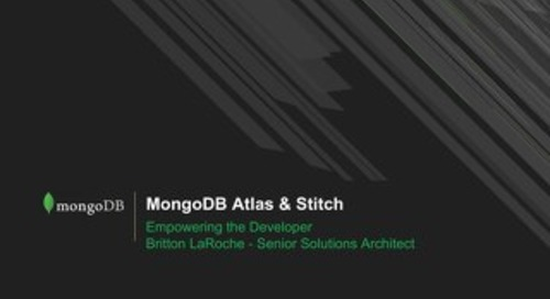 Altas + Stitch Empowering the Developer