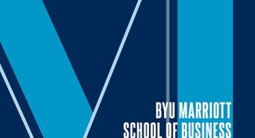 BYU Marriott 2018 Annual Report