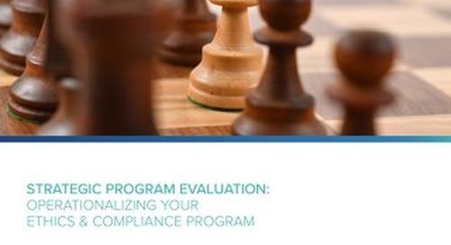 Strategic Program Evaluation