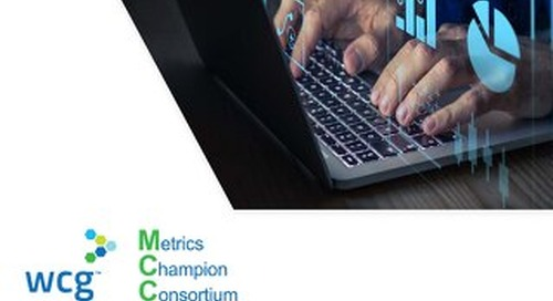 MCC Site Generated Performance Metrics v1.0 At-A-Glance