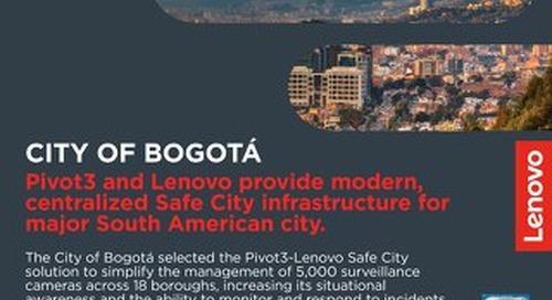 Case Study City of Bogotá
