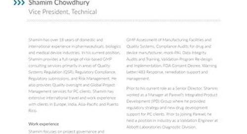 Shamim Chowdhury