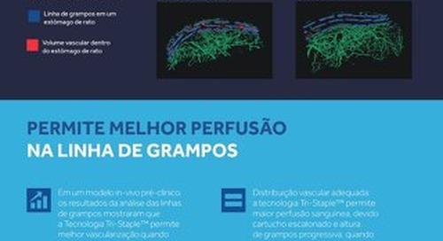 PERFUSAO NA LINHA DE GRAMPOS - TRI-STAPLE