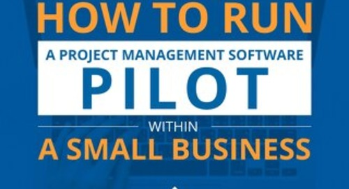 How to run a project management software pilot within a small business