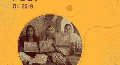 The Foundation Post, Q1, 2019: Shiv Nadar Foundation's newsletter